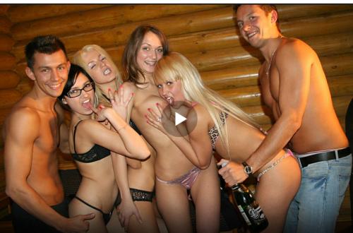 секс вечеринка сауна