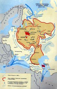 советская Россия в кольце фронтов